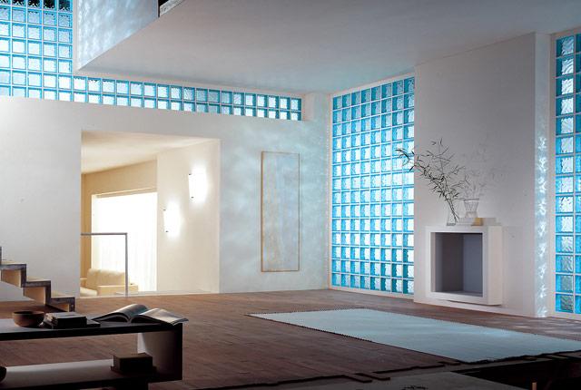 Bloque de vidrio pav s - Cristales para paredes ...